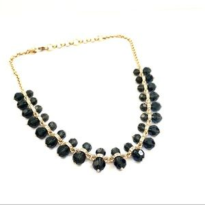 BANANA REPUBLIC transparent gray bead necklace NWT